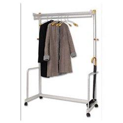 Alba - ABAPMLUX6 - Garment Rack, 72 x 22 In, Gray