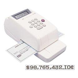 Max USA - MXBEC30A - Max Electronic Checkwriter (Each)