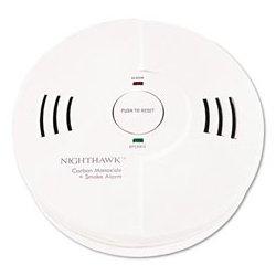 Kidde Fire and Safety - KID9000102 - Kidde Night Hawk Combination Smoke/CO Alarm with Voice & Alarm Warning (Each)