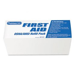 PhysiciansCare - ACM90103 - PhysiciansCare ANSI/OSHA First Aid Refill Pack (Box of 1)