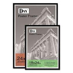 Dax - DAX3404U1T - Poster Frame, Black/Silver, 36x24 In.