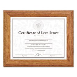 Dax - DAX2703N8X - DAX Stepped Solid Wood Document/Certificate Frame (Each)