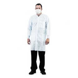Impact - IMP7385XL - Impact Disposable Lab Coats Coat (Carton of 30)