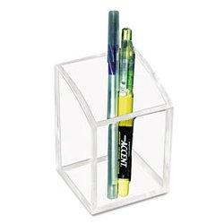 Kantek - KTKAD20 - Pencil Cup, Clear, Acrylic