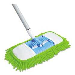 Quickie / Lysol - QCK060 - Quickie Green Cleaning Soft & Swivel Dust Mop (Each)
