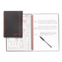 Black n' Red - JDKC67009 - Black n' Red Twinwire Notebooks (Each)