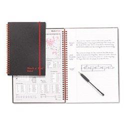 Black n' Red - JDKK66652 - Black n' Red Twinwire Notebooks (Each)