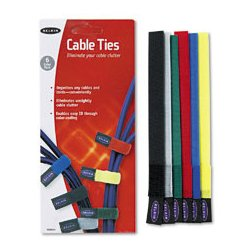 Belkin / Linksys - BLKF8B024 - Belkin Multicolored Cable Ties (Pack of 6)