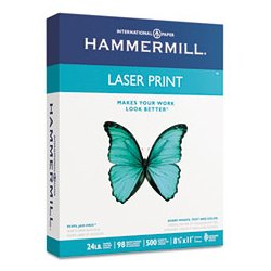 Hammermill - HAM104612 - 8-1/2 x 14 Laser Paper with Matte Finish, White; PK500