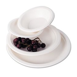 Eco-Products - ECOEPP005 - Eco-Products Compostable Sugarcane Dinnerware (Carton of 500)