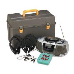 AmpliVox - APLSL1070 - AmpliVox Personal Six-Station Listening Center (Each)