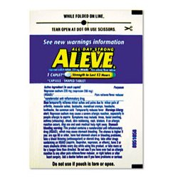 Aleve - LIL51030 - Aleve Pain Reliever Tablets Refill Packs Aleve (Box of 30)