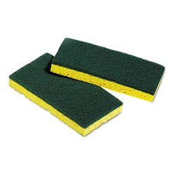 Unisan - UNS03006 - UNISAN Medium-Duty Scrubbing Sponges (Pack of 5)