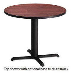 Mayline - MLNCA36RTRMH - Mayline Round Hospitality/Bistro Table Top (Each)