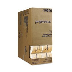 Georgia Pacific - GEP1824001 - Georgia Pacific Preference Two-Ply Embossed Bathroom Tissue in Dispenser Box (Carton of 40)