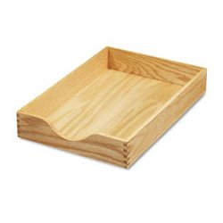 Carver Wood Products - CVR07211 - Carver Hardwood Stackable Desk Trays (Each)