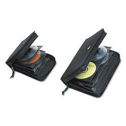 Case Logic - CLGCDW64 - 72-Capacity CD/DVD Wallet, Black, 1 EA