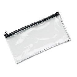 MMF Industries - MMF234041720 - MMF Industries Clear Vinyl Zippered Wallet (Each)