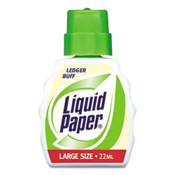 Liquid Paper - PAP5660115 - Liquid Paper Stock Color Correction Fluid (Each)