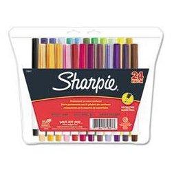 Sharpie - 37172 - Sharpie Ultra Fine Tip Permanent Marker (Kit of 12)
