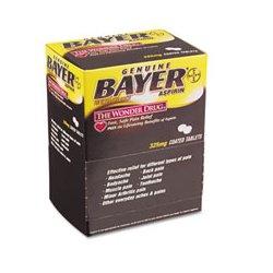 Bayer - PFYBXBG50 - Bayer Aspirin Tablets Bayer Aspirin, 2/Pack (Box of 50)