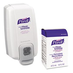 Purell - GOJ2156D1 - PURELL NXT SPACE SAVER Dispenser and Refill (Kit of 1)