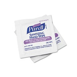 Purell - GOJ902210BX - PURELL Sanitizing Hand Wipes (Box of 100)