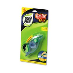 Liquid Paper - PAP87813 - Liquid Paper DryLine Grip Correction Tape (Pack of 2)