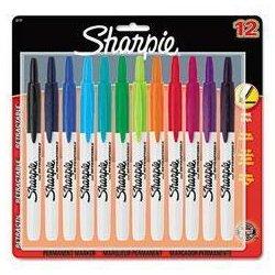 Sharpie - 32730PP - Sharpie Retractable Fine Tip Permanent Marker (Kit of 8)