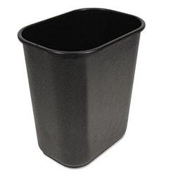 Unisan - UNS28QTWBBLA - UNISAN Soft-Sided Wastebasket (Each)