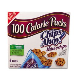 Nabisco - CAH610 - Nabisco Chips Ahoy 100 Calorie Packs Cookies (Box of 6)