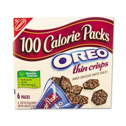 Nabisco - ORE0617 - Nabisco OREO 100 Calorie Packs Cookies (Box of 6)