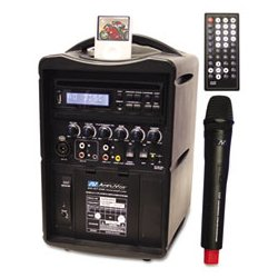 AmpliVox - APLSW720 - AmpliVox iPod Wireless PA System (Each)