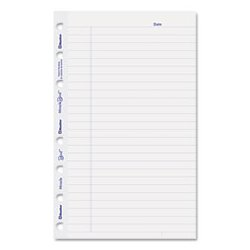 Blueline - REDAFR6050R - MiracleBind Notebook Ruled Paper Refill Sheets, Ruled Rule, 8 x 5 Sheet Size