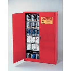 Eagle Mfg - PI-30 - 40 gal. Paint and Ink Cabinet, 44 x 43 x 18, Self-Closing Door Type