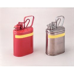 Eagle Mfg - 1301 - 1 gal. Type I Safety Can, Used For Flammables, Silver; Includes PTFE Gasket, Flame Arrestor