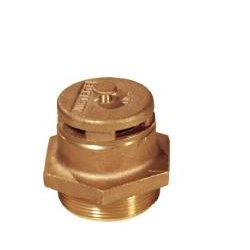 Justrite - 08101 - Justrite 2 X 2 Brass Vertical Dual Action Safety Drum Vent With Auto Vacuum Relief (For Petroleum Based Applications), ( Each )