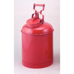 Eagle Mfg - 1325 - Disposal Safety Can 5 Gal 316 Stainless Steel Eagle Mfg Co. 11.25 In Outside Diameter 18 In H, Ea