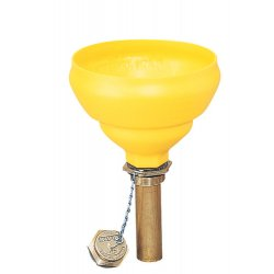 Justrite - 08211 - Funnel, Brass, Pressure And Vacuum Relief