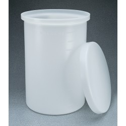 Thermo Scientific - 11100-0030 - TANK CYLNDR LLDPE W/COVER 30GAL (Each)