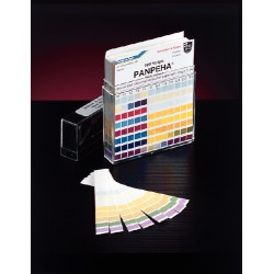 Whatman / GE Healthcare - 10360005 - Indicator Papers 200 PK Testing Parameter: pH Range: 0 to 14 pH
