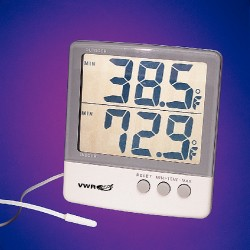 VWR - 61161-324-EACH - VWR Traceable Big-Digit Memory Thermometer Big-Digit Memory Thermometer (Each)