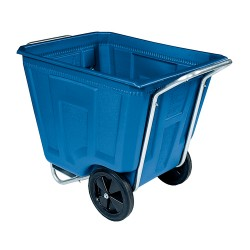 Akro-Mils / Myers Industries - 76491 - AKRO CART HVY W/LID90GAL BLU. (Each)