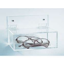 Bel-Art - 248770000 - Holder, Acrylic, Eyewear, With/lid