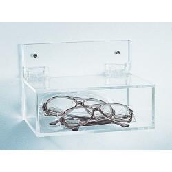 Bel-Art - 248770001 - Holder, Acrylic, Eyewear, Without/lid