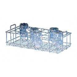 Labconco - 4402001 - Labconco 4402001 Washer Rack Insert, Standard Bottom; 144 Tubes (15-18mm)