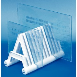 Bel-Art - 135960000 - ELECTROPHORESIS GEL PLATE RACK (Each)