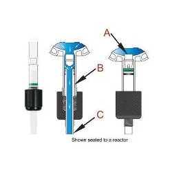 Chemglass - Cg-510-01 - Valve Chem-drain Complete 6m (each)