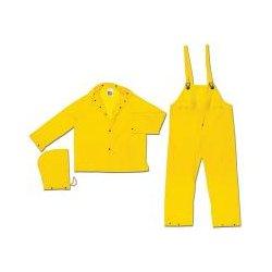 Mcr Safety - O703l - Rainsuit Pvc 1ply Yellow L (each)