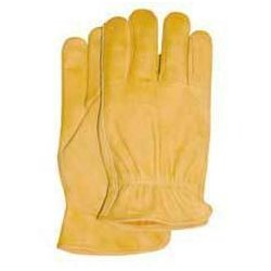 Wells Lamont - 1130XL - Grain Cowhide Leather Driver Glove W/palm Patch